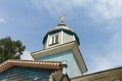 教会roof.tif 免版税库存照片