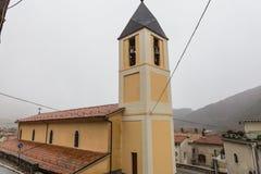 教会S.Miniato在佛罗伦萨-意大利 玛丽亚Assunta,维莱塔巴雷亚,阿布鲁佐,意大利 10月 库存照片
