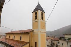 教会S.Miniato在佛罗伦萨-意大利 玛丽亚Assunta,维莱塔巴雷亚,阿布鲁佐,意大利 10月 免版税库存图片