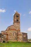 教会saccargia 免版税图库摄影