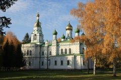 教会samsonovskja 免版税库存照片