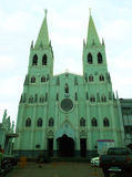 教会San Sebastian 免版税库存图片