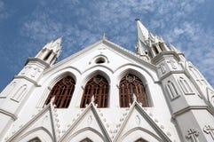 教会santhome 免版税图库摄影