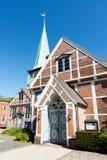 教会St陪替氏和圣保利队在汉堡 图库摄影