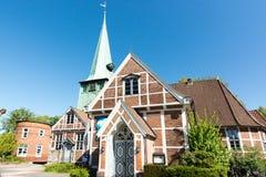 教会St陪替氏和圣保利队在汉堡 库存图片