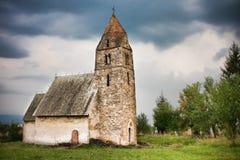 教会strei 免版税图库摄影