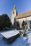 教会tanworth 免版税库存照片