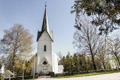 教会troemborg 库存图片