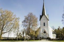 教会troemborg 库存照片
