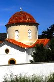 教会veni 免版税图库摄影