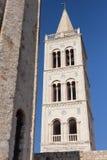 教会zadar克罗地亚多纳特的st 免版税库存图片
