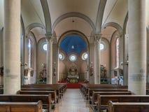 教区教堂圣徒萨尔瓦托,厄恩斯特,德国 库存照片