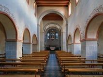 教区教堂圣徒Pankratius,奥登塔尔,德国 免版税库存照片