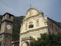 教区教堂在昆奇内托 免版税库存照片