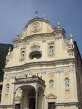 教区教堂在昆奇内托 免版税图库摄影