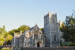 教区教堂在萨福克 免版税库存图片
