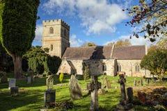教区教堂,渥斯特夏,英国 库存照片