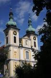 教区教堂St. Johann (Donaueschingen) 免版税库存图片
