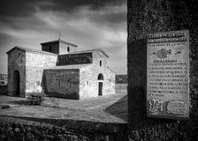 教堂中殿的圣皮特圣徒・彼得 库存图片