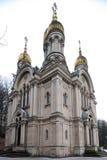 教堂俄语 库存照片