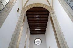 教堂内部 库存图片