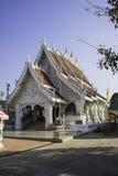 教堂和泰国的寺庙艺术 图库摄影