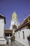 教堂和泰国的寺庙艺术 免版税图库摄影