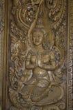 教堂和泰国的寺庙艺术 免版税库存照片