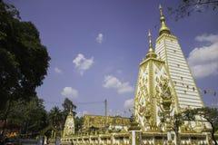 教堂和泰国的寺庙艺术 库存照片