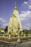 教堂和泰国的寺庙艺术 库存图片