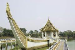 教堂和泰国的寺庙艺术 免版税库存图片