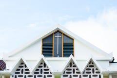 教堂和bluesky 免版税图库摄影