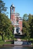 教堂和Svyatopolk-Mirsky的地下埋葬室 免版税图库摄影