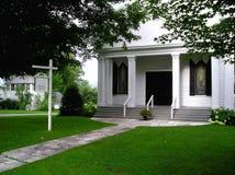 教堂国家(地区)婚礼 免版税库存照片
