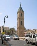 教堂在古老贾法角在特拉维夫 免版税库存图片