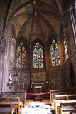 教堂在大教堂或大教堂里在彻斯特英国 库存照片
