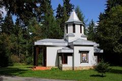 教堂在宫殿皇家Bistrica - Borovets 免版税图库摄影