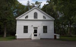 教堂在森林 免版税库存照片