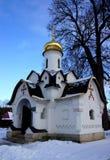 教堂在Sts修道院大教堂里  鲍里斯和Gleb在Dmitrov 免版税库存图片