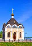 教堂尼古拉斯st 雷宾斯克,俄罗斯 库存图片