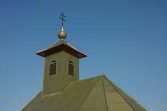 教堂屋顶细节  库存照片