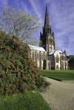 教堂教会clumber 免版税库存照片