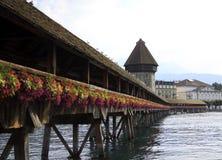 教堂桥梁在卢赛恩 图库摄影