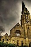教堂正方形 免版税库存照片