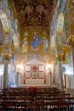 教堂毛皮围巾的palazzo巴勒莫reale 免版税库存照片