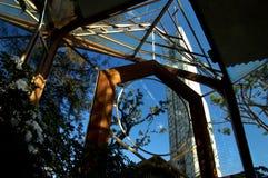 教堂玻璃 图库摄影