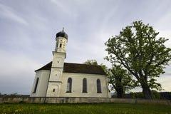 教堂白色 免版税库存照片