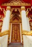 教堂的门 免版税库存照片