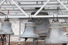 教堂钟在圣彼德堡 免版税库存照片