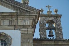 教堂钟在葡萄牙 免版税库存照片